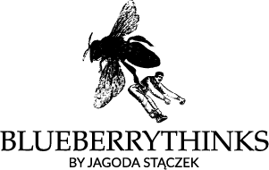 Blueberrythinks logotype