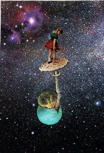 Dziewczynka w kosmosie